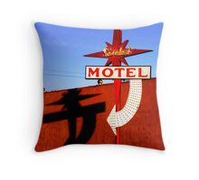 Stardust Motel I Throw Pillow