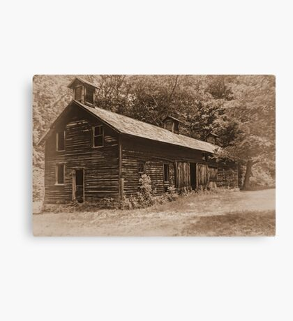 The Hog Barn Canvas Print