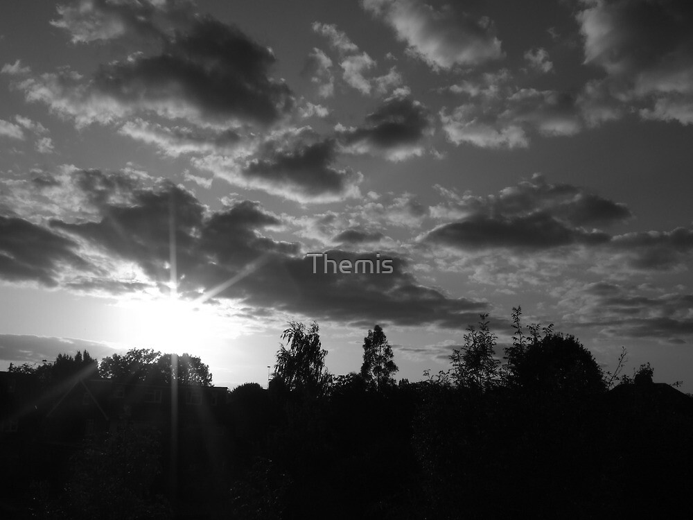 September Sunset in a London Suburb by Themis