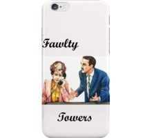 Fawlty Towers : Sybil and Basil iPhone Case/Skin