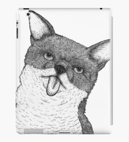 Stick Your Tongue Out iPad Case/Skin