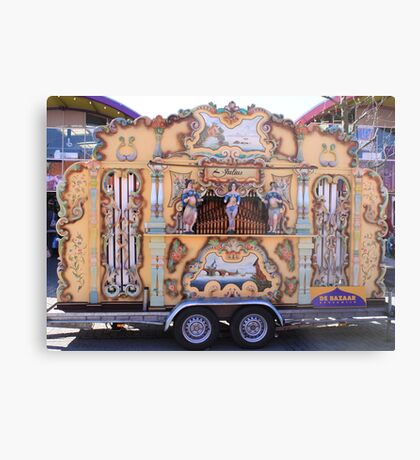 Barrel organ Metal Print