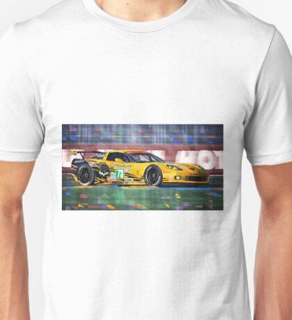 Chevrolet Corvette C6R GTE Pro Le Mans 24 2012 Unisex T-Shirt