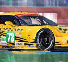 Chevrolet Corvette C6R GTE Pro Le Mans 24 2012 Sticker