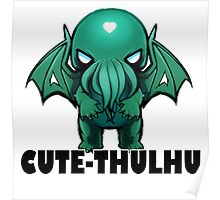 Cute-thulhu Type Poster