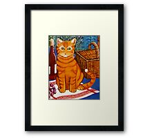 The Ginger Gourmet Framed Print
