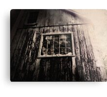 Creepy Building Metal Print