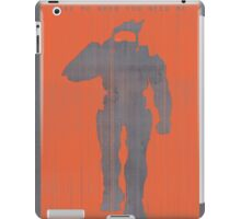 Halo Master Chief Gaming Poster iPad Case/Skin