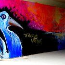 Painted Bird. by Paul Rees-Jones