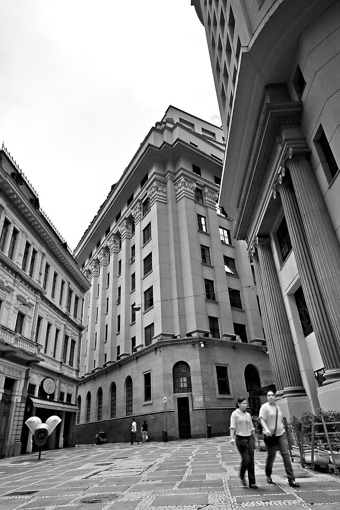 Center of Sao Paulo by Daniel Larrinaga