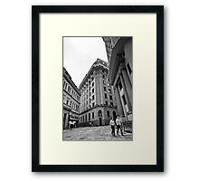 Center of Sao Paulo Framed Print