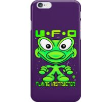 UFO Flying Instructor T iPhone Case/Skin