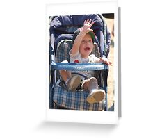 Whats up!!!! Greeting Card