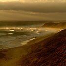 Sunset Sunburst, 13th Beach, Surf Coast by Joe Mortelliti