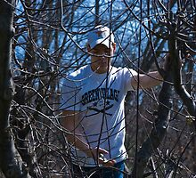 My Son the Tree Trimmer by ericseyes