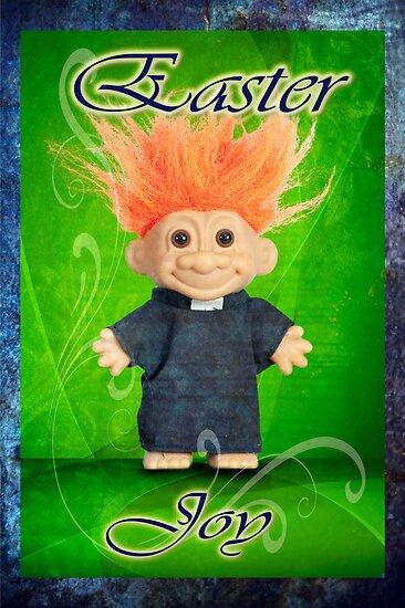 Easter Joy Troll by DonDavisUK