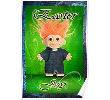 Easter Joy Troll Poster