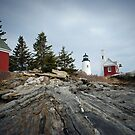 Pemaquid Point Lighthouse by GGleason