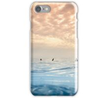 Sunset in Galapagos - Surf Paradise iPhone Case/Skin