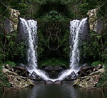 Curtus Falls Mirrored by Matthew Walmsley-Sims