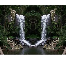 Curtus Falls Mirrored Photographic Print