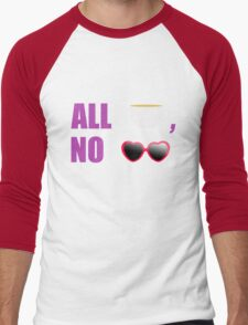All T, No Shade  Men's Baseball ¾ T-Shirt