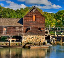 HDR Old Grist Mill by M a r i e B a r c i a