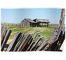 The Sod House Ranch Poster