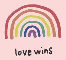 LGBTQA+  PRIDE [Love Wins] Baby Tee