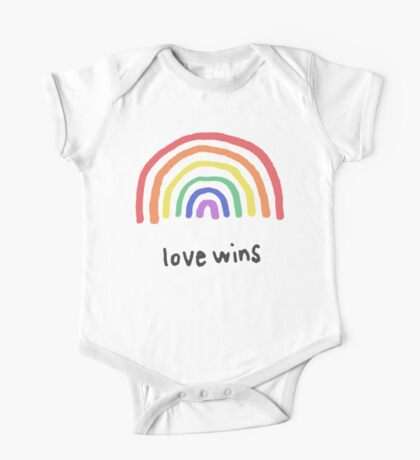 LGBTQA+  PRIDE [Love Wins] One Piece - Short Sleeve