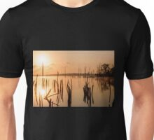 Reservoir at Sunrise  Unisex T-Shirt