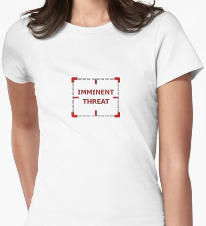 Imminent Threat MINI version Womens Fitted T-Shirt