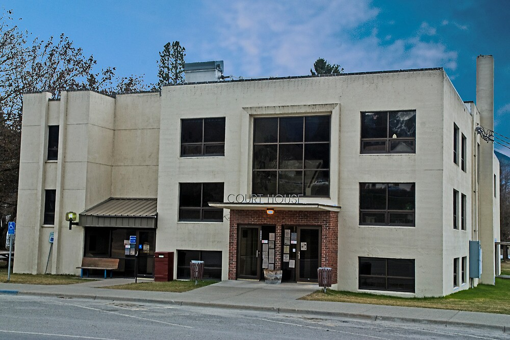 Sanders County (Montana) Court House by Bryan D. Spellman