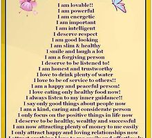 Affirmations For Women by VENUSC1