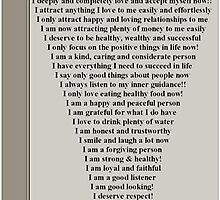 Affirmations for men by VENUSC1