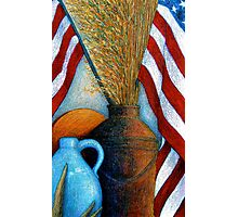 All American Still Life Photographic Print