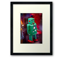 Tin Robot Framed Print