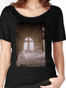 Cross Under The Pier Women's Relaxed Fit T-Shirt