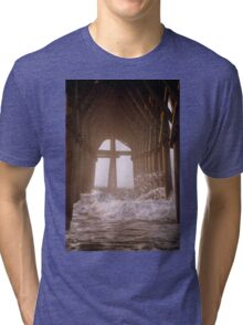 Cross Under The Pier Tri-blend T-Shirt