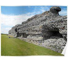 Richborough Roman Fort Poster