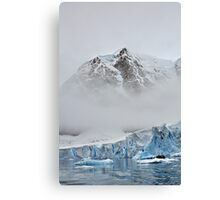The Magnificent Iced Continent Canvas Print