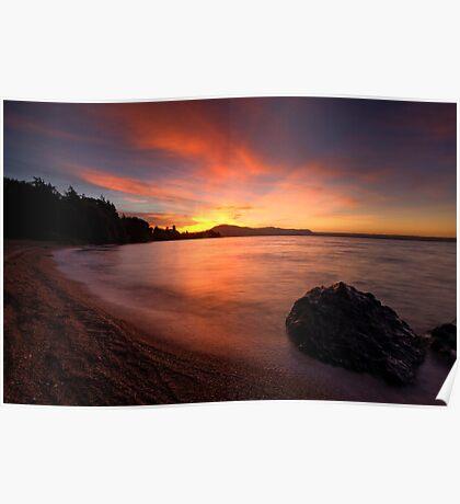Holdens Bay, Lake Rotorua Poster