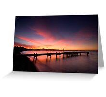 Lake Rotorua Sunset Greeting Card