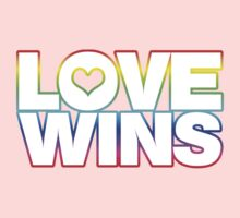 LOVE WINS One Piece - Short Sleeve
