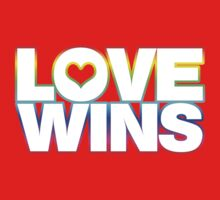 LOVE WINS Kids Clothes