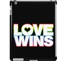 LOVE WINS iPad Case/Skin
