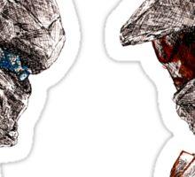 Halo 5 art Sticker