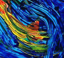 Colorful Abstract Art - Energy Flow 5 - By Sharon Cummings by Sharon Cummings
