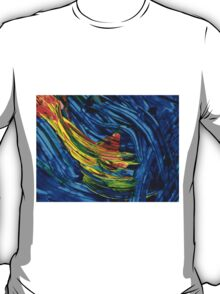 Colorful Abstract Art - Energy Flow 5 - By Sharon Cummings T-Shirt
