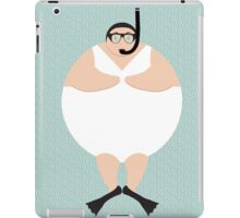 4 Swimming Snorklers  iPad Case/Skin